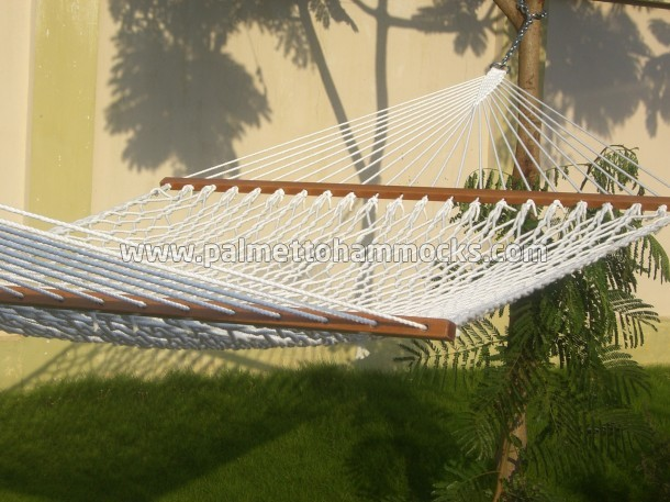 deluxe size double person use 13ft cotton rope hammock cotton rope hammocks  rh   twotreehammocks