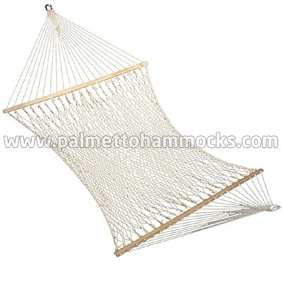 family size double person use 13ft cotton rope hammock cotton rope hammocks  rh   twotreehammocks